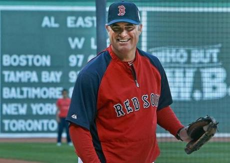 Taking over a team that finished last in the AL East in 2012, John Farrell left a team that came in last in the division this season.